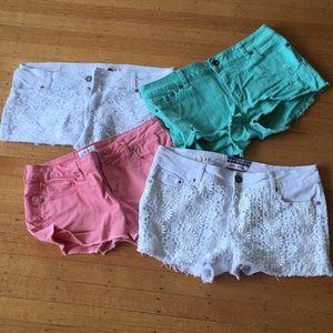 4 pairs of Shorts